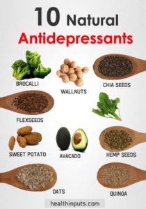 10 natural antidepressants list