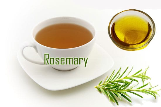Rosemary oil tea benefits