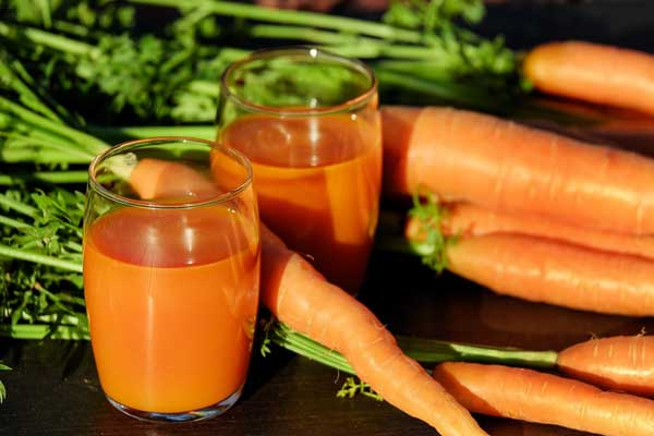 carrot & its juice